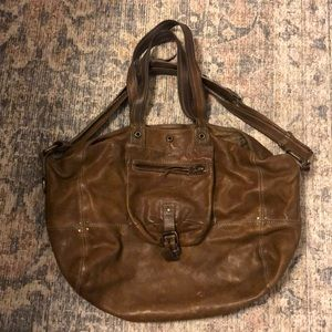Jerome Dreyfuss Billy Leather taupe bag